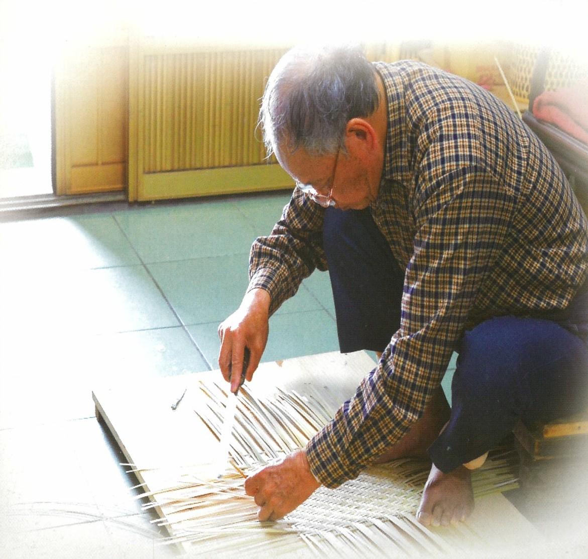 以竹編憶少年時 張棟樑盼傳統工藝再延續