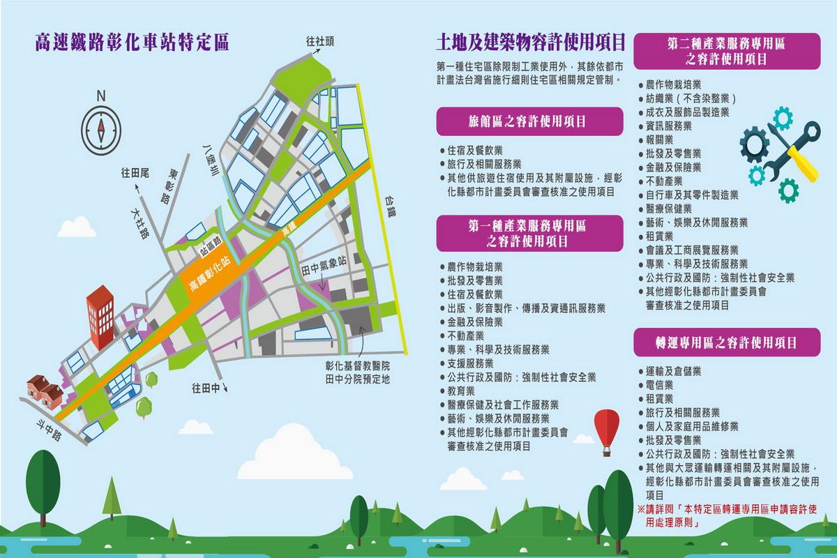 彰化高鐵特定區區段徵收之可建築土地110年度第1次公開標售開始了!