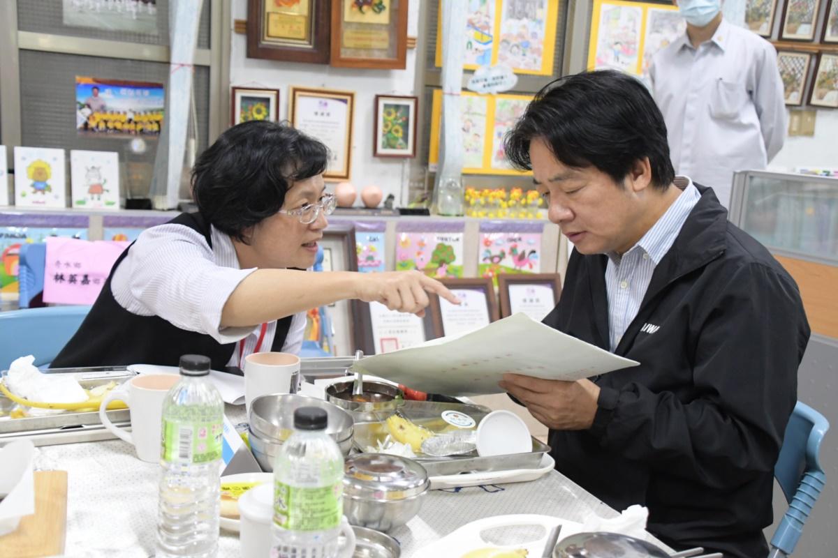 王惠美縣長向賴清德副總統爭取三項重大建設