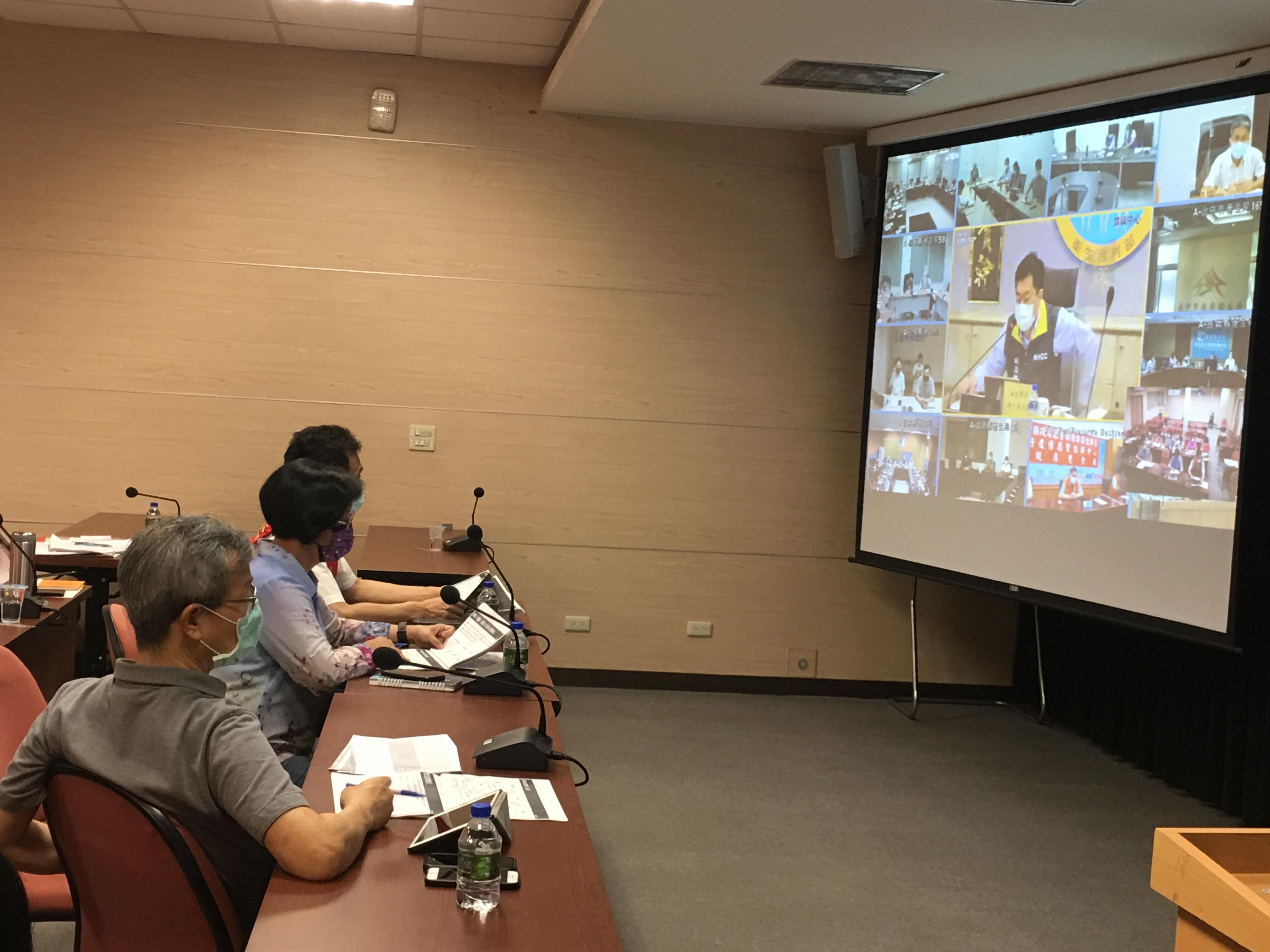 王惠美縣長向中央建議 爭取彰化縣疫苗分配數 開放疫苗合法給企業採購