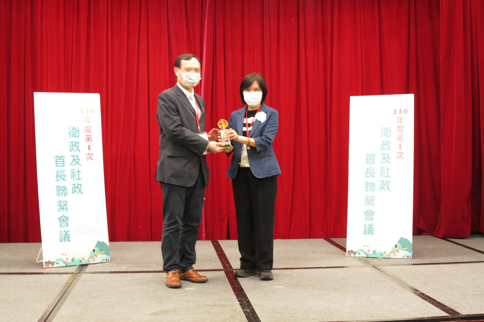 恭賀!彰化縣衛生局榮獲109年地方衛生機關食品藥物類業務考評第二組優等獎