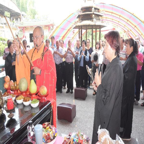 彰化縣政府舉辦中元動物靈普渡法會 為眾生萬靈祈福超渡