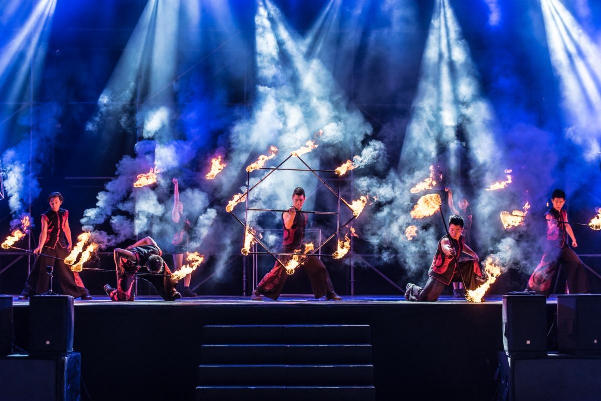 去年造成轟動的重慶銅梁火龍,今年元宵期間又來彰化囉!
