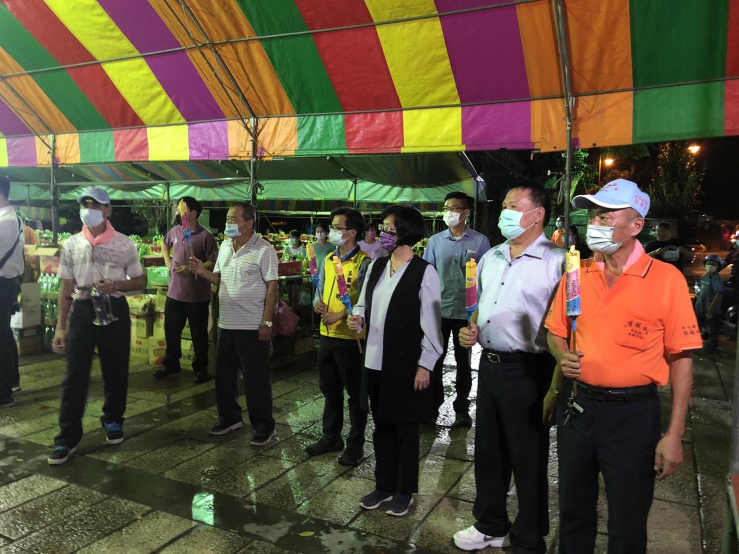辛丑年芬園寶藏寺慶讚中元普渡大法會-放水燈