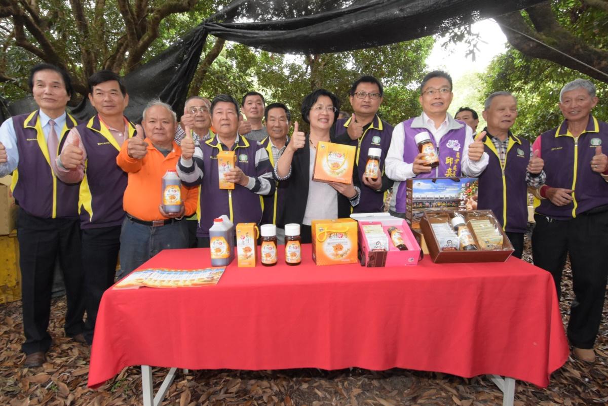 彰化市「林下經濟」 養蜂產銷班參訪  力挺在地農友 歡迎採買彰化優質的蜂蜜