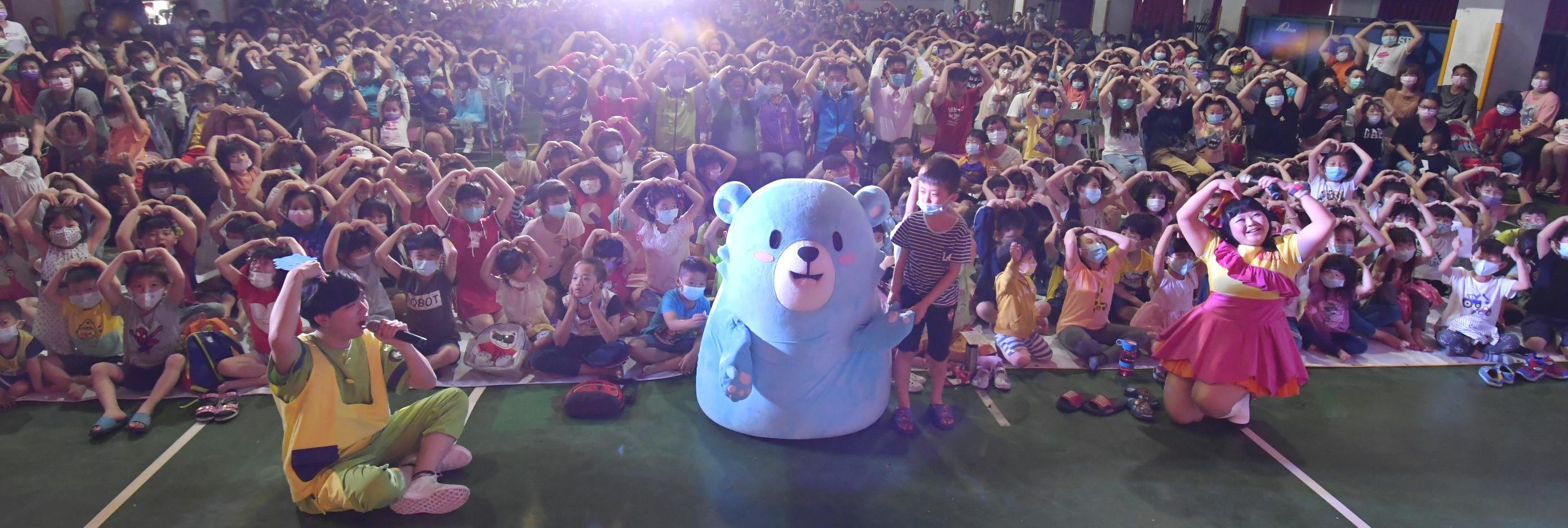 「彰化囝仔好幸福─110年兒童劇鄉鎮巡演活動」 第一場福興國中登場