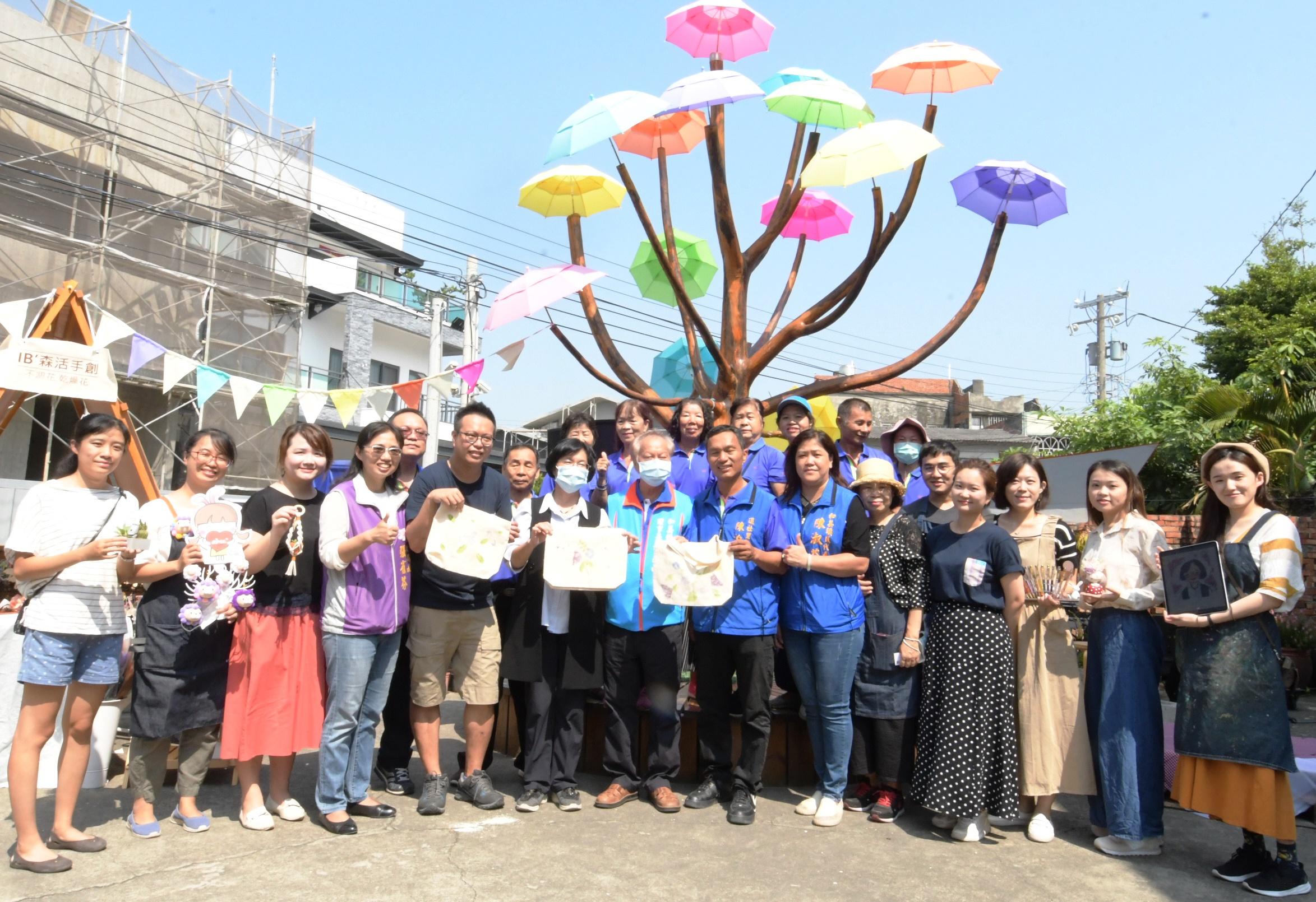 打卡熱點彰化和美卡里善之樹 結合還社社區辦理手作市集 歡迎來體驗