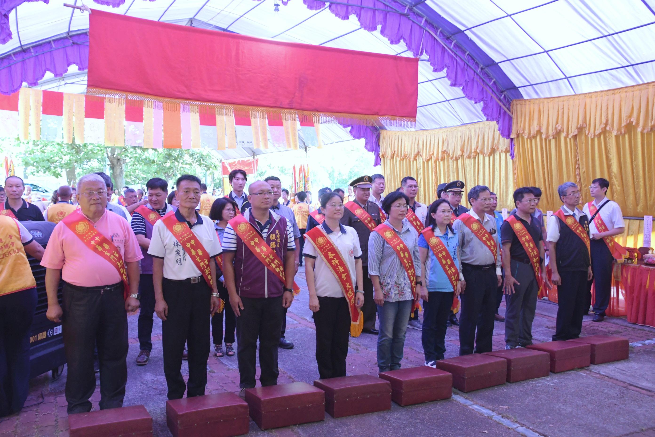 109年彰化軍人忠靈祠祈福法會