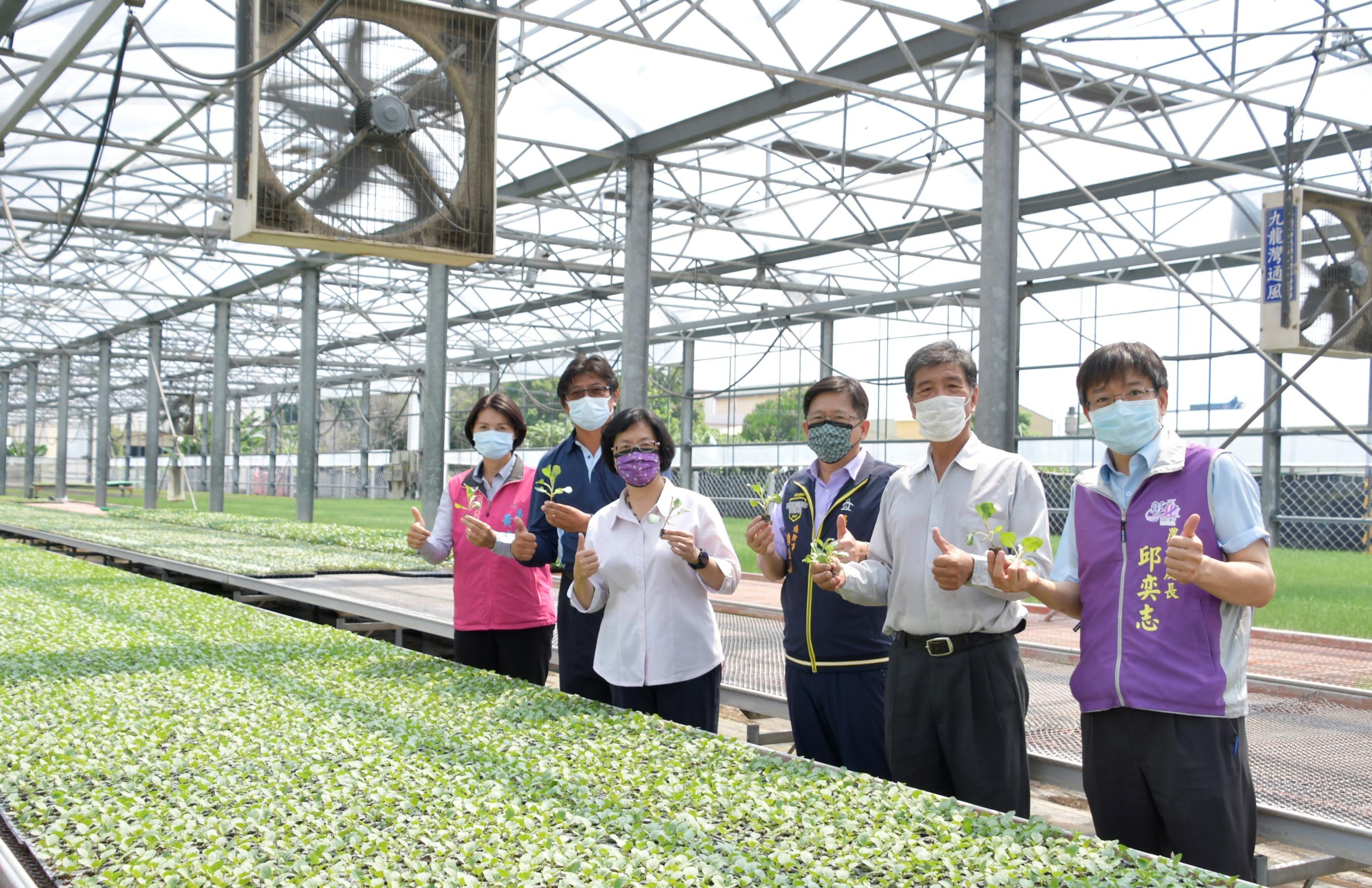 農業產業關懷-參訪博華蔬菜育苗場