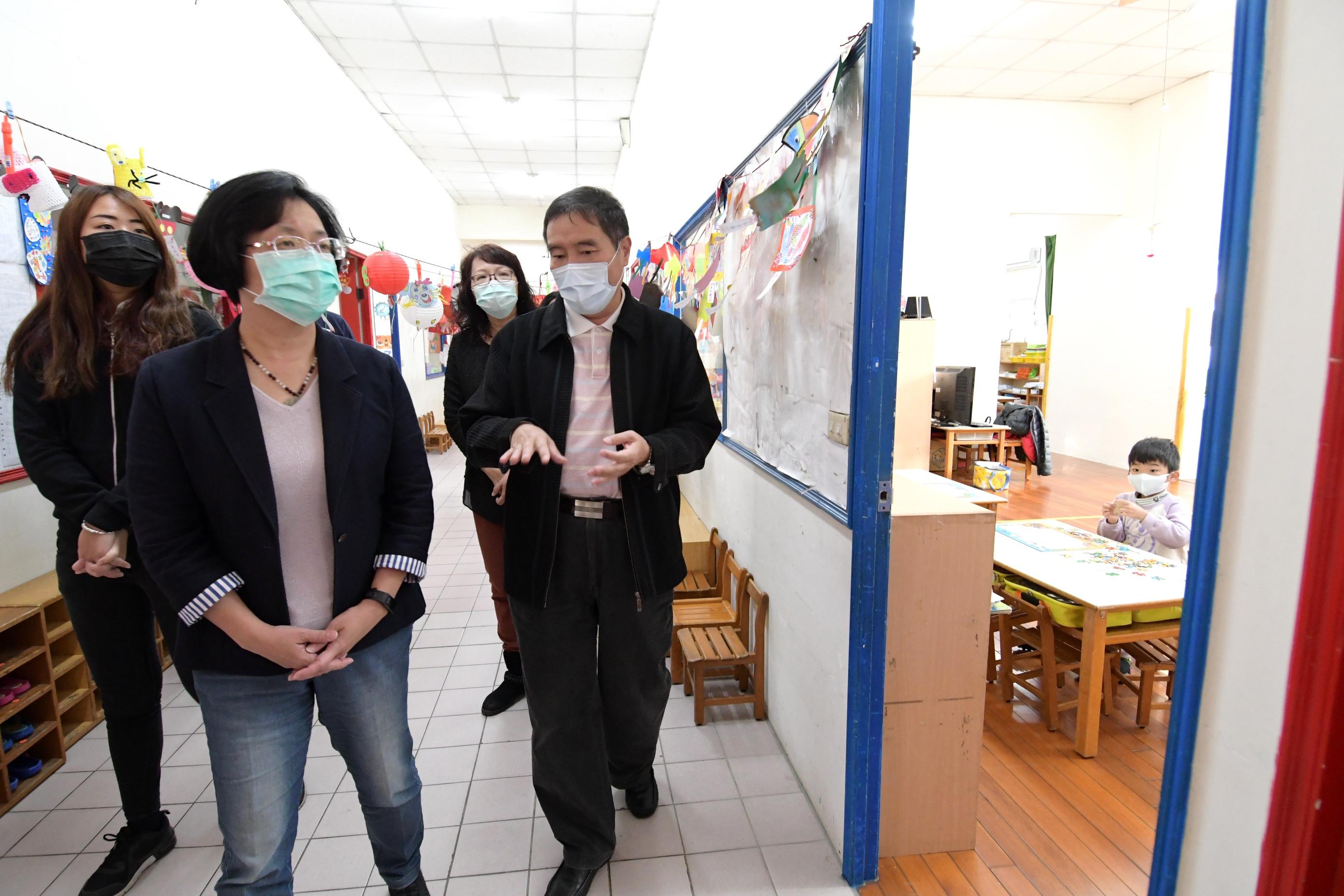 彰化防疫大作戰 守護幼兒嚴把關 謹守防疫「2不3要」一起努力度過疫情
