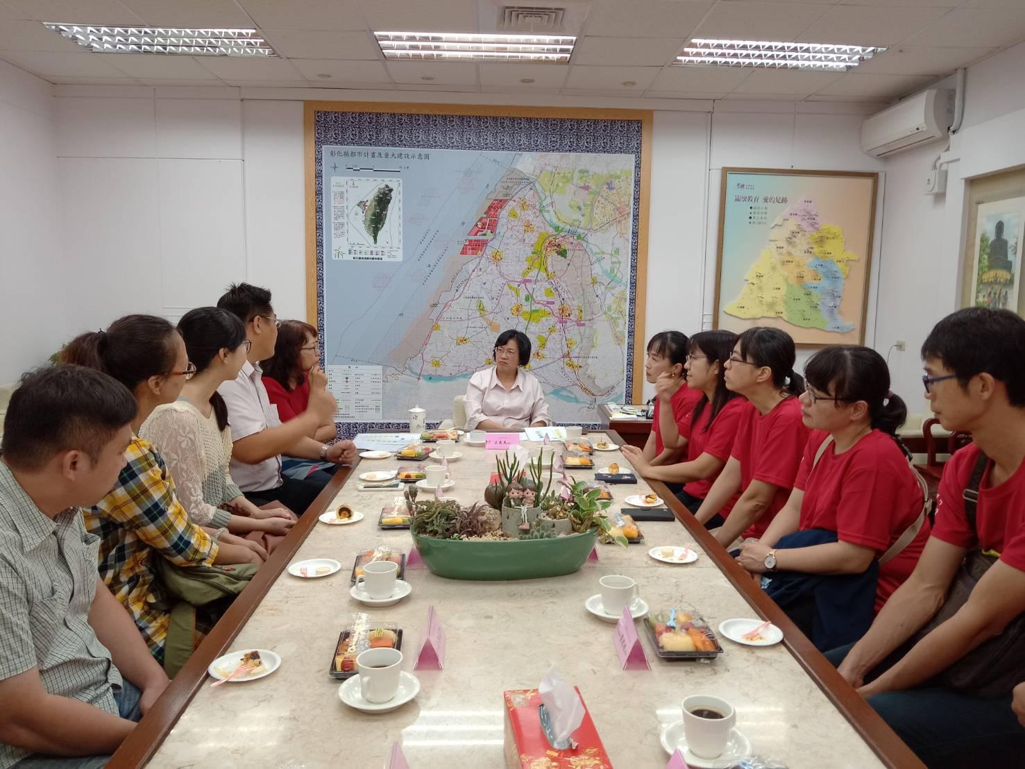 國中教學團隊減C有成-縣長教育座談會 教學策略奏效 學力提升有成