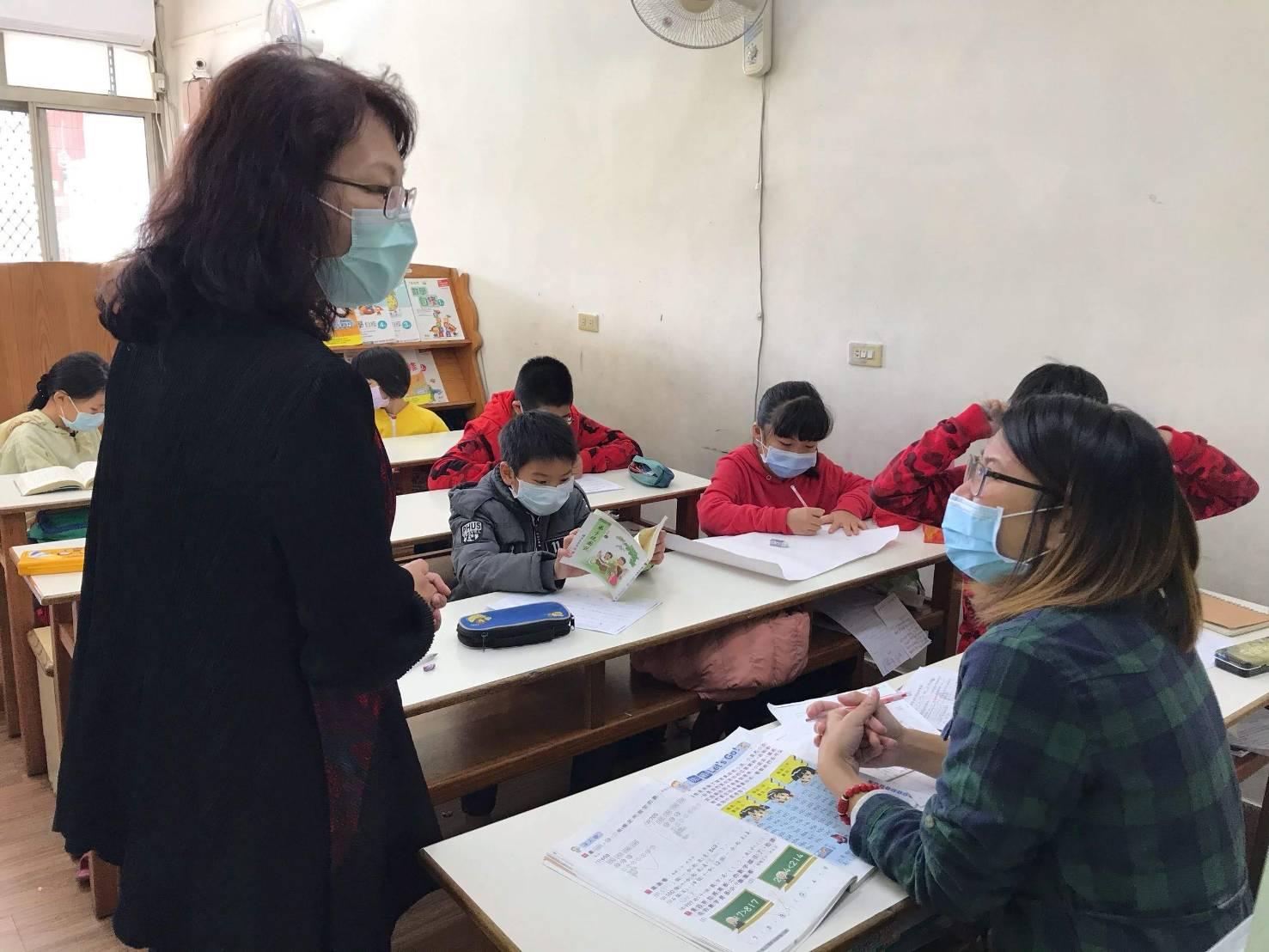 縣府防疫嚴把關 孩童安心樂學習