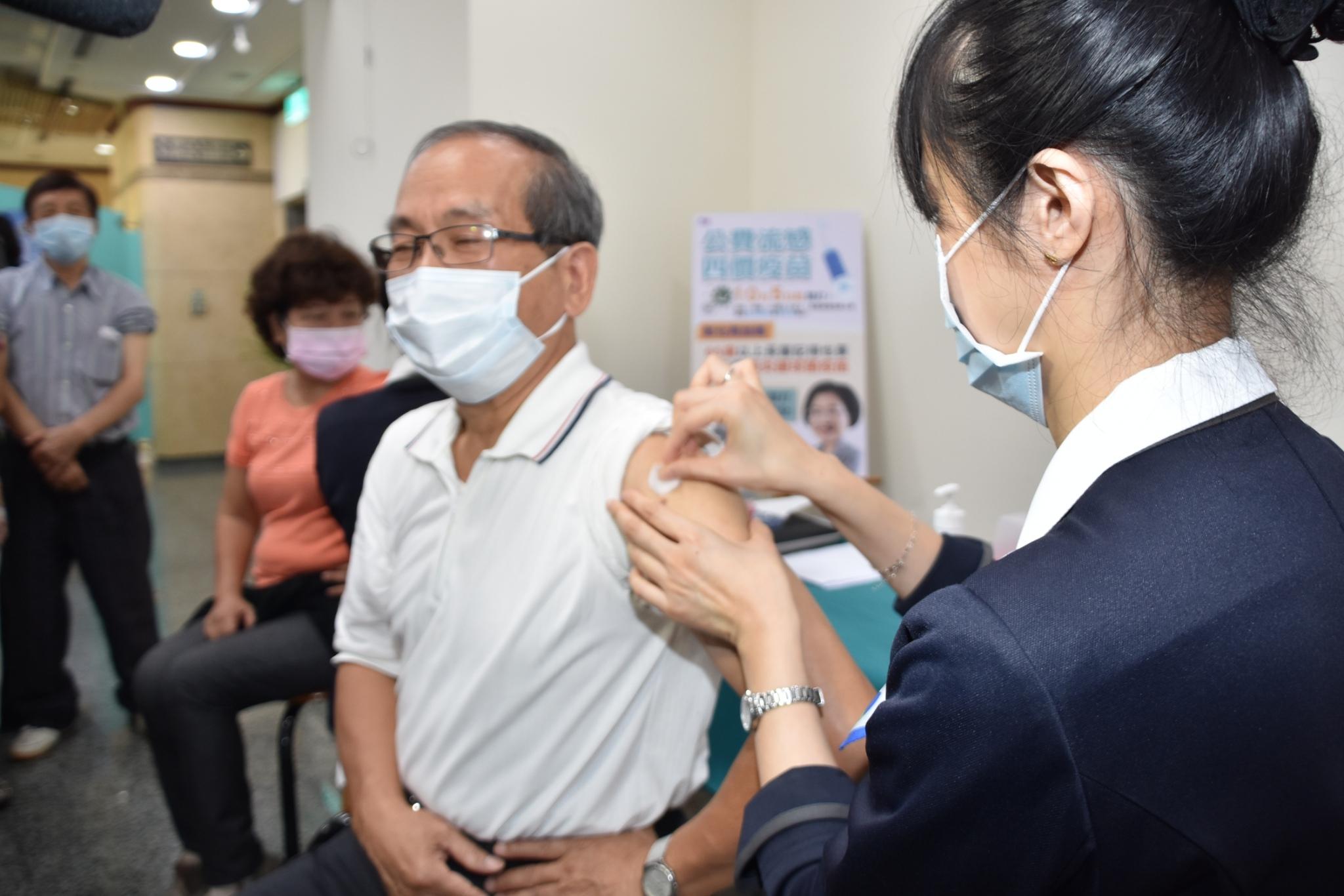 65歲以上彰化縣民公費肺炎鏈球菌疫苗接種!